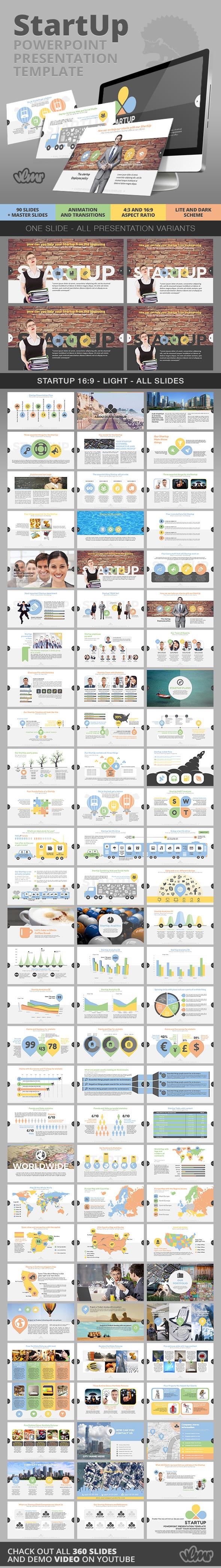 StartUp PowerPoint Presentation Template