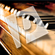 Bright Piano Reveal Logo
