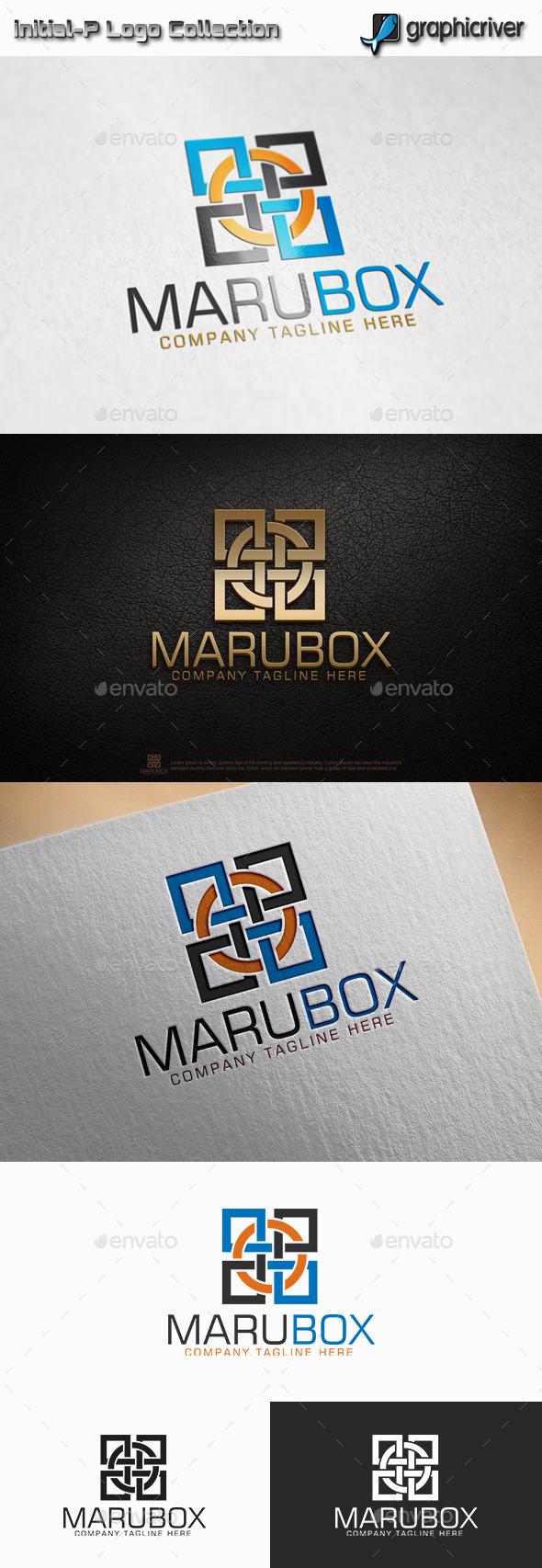 Maru Box - Circle Square logo