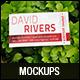 Natural Realistic Business Card Mockup V1 - GraphicRiver Item for Sale