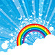 Rainbow Background - GraphicRiver Item for Sale
