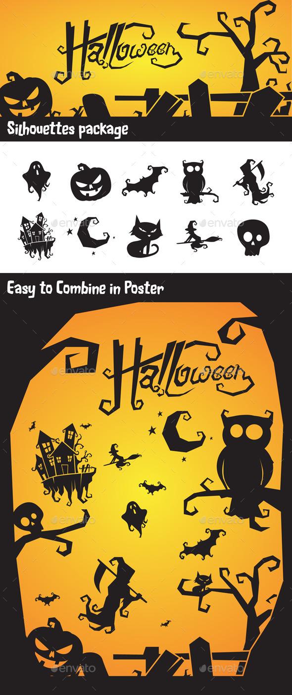 Halloween Vector Silhouette