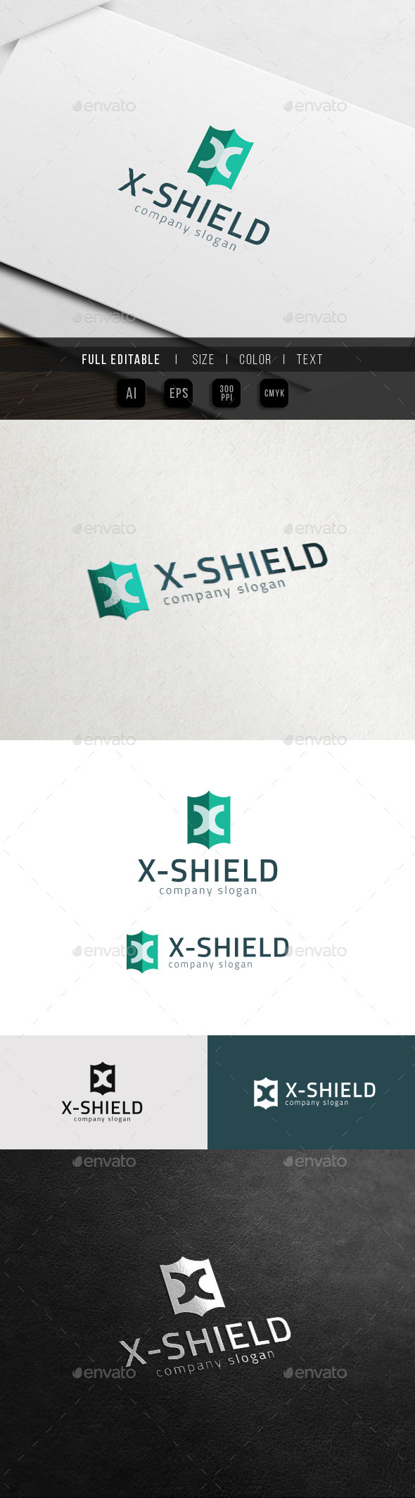 X Shield - Extreme X Logo