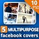 Multipurpose Facebook Cover - GraphicRiver Item for Sale