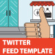 Twitter Stream Graphic Templates Cafe Bakery Etc - GraphicRiver Item for Sale
