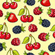 Berries Pattern - GraphicRiver Item for Sale