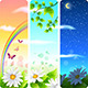 Spring Vertical Banners - GraphicRiver Item for Sale