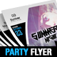 Dj Party Flyer/Poster Templates 002 - GraphicRiver Item for Sale