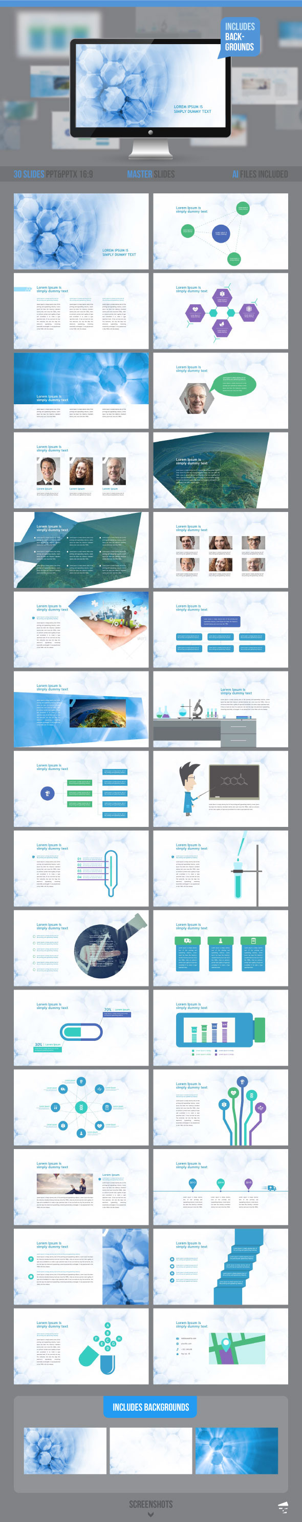 Medical Template For Powerpoint from previews.customer.envatousercontent.com