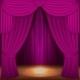 Purple Curtains - GraphicRiver Item for Sale