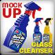 Cleanser Bottle Mockups. Liquid filling possible.  - GraphicRiver Item for Sale