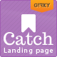 Catch Landing - ThemeForest Item for Sale