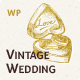Vintage Wedding WordPress Theme - ThemeForest Item for Sale