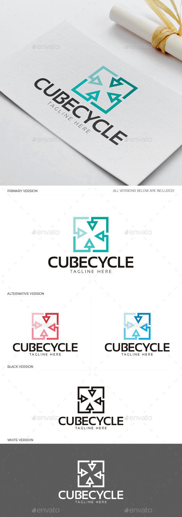 Cube Cycle Logo
