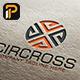 Circross - Circle cross Logo - GraphicRiver Item for Sale