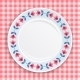 Decorative Plate, Top View. - GraphicRiver Item for Sale