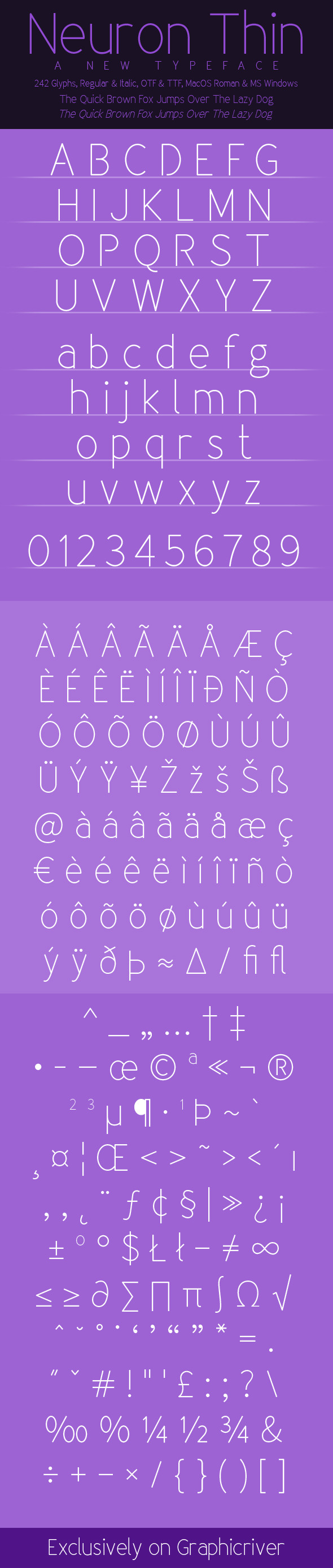 Sans-Serif Fonts from GraphicRiver (Page 8)