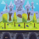 3 CASTLE GAME BACKGROUND - GraphicRiver Item for Sale