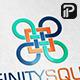 Infinity square  logo - GraphicRiver Item for Sale