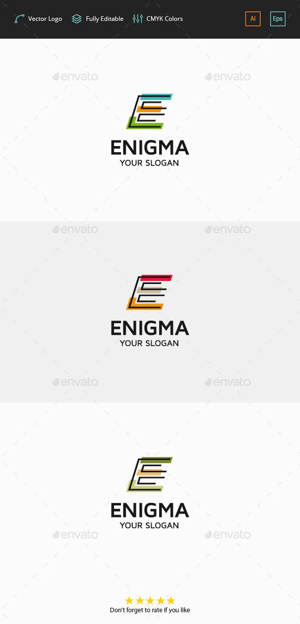 Enigma - Letter E