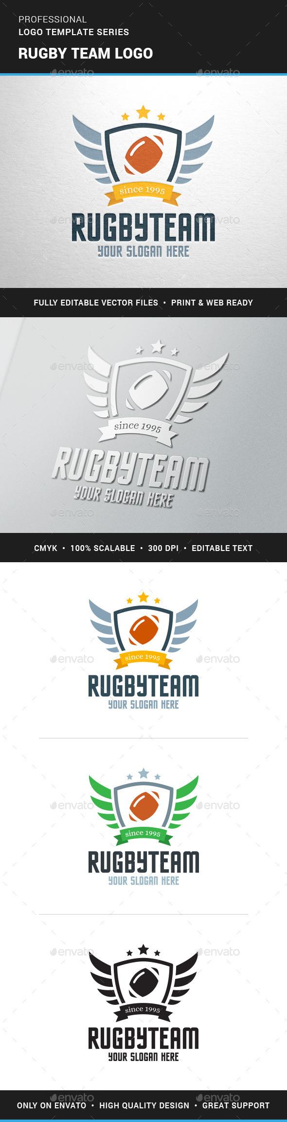 Rugby Team Logo Team