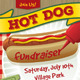 Hot Dog / BBQ / Picnic Event Poster, Flyer or Ad - GraphicRiver Item for Sale