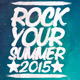Rock Your Summer  Flyer/Poster - GraphicRiver Item for Sale