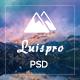 Luispro - ThemeForest Item for Sale