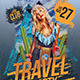 Travel & Party poster - GraphicRiver Item for Sale
