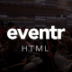 Eventr - One Page Event Template - ThemeForest Item for Sale