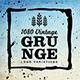 1080 Vintage Grunge Logo Variations - GraphicRiver Item for Sale
