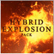 Hybrid Explosion Pack - VideoHive Item for Sale