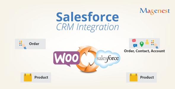 Woocommerce Salesforce CRM Integration