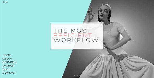 PN - Portfolio & Agency WordPress Theme