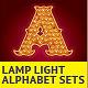 Lamp Light Alphabet Sets - GraphicRiver Item for Sale
