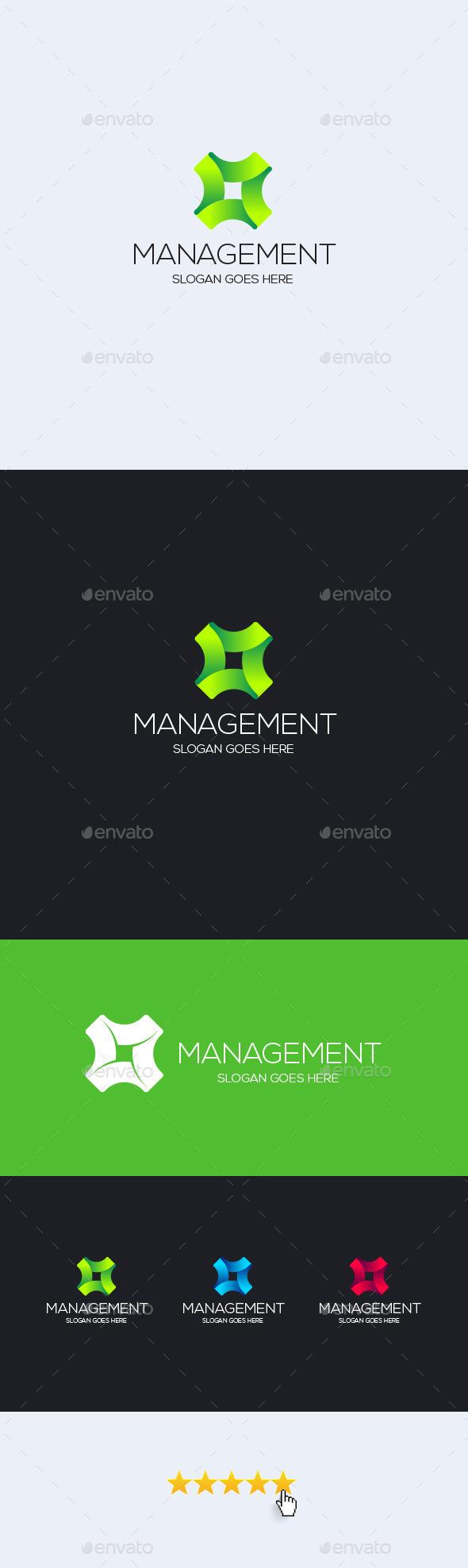 Management Logo Template