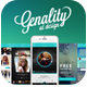 """New Ready """"Genality II"""" Mobile UI Kit Part 1 - GraphicRiver Item for Sale"""