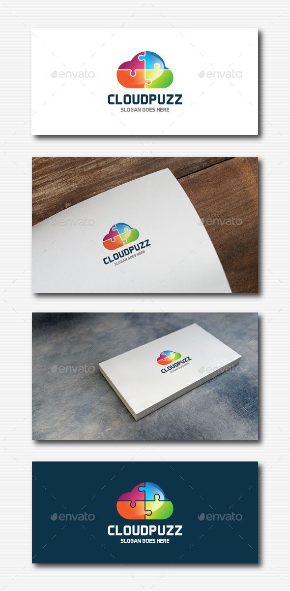 Cloud Puzzle Logo