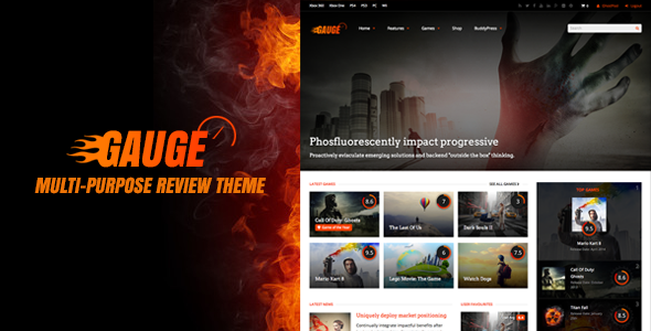 Gauge: Multi-Purpose Review Theme