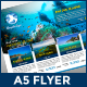 A5 Travel Packages Flyer - GraphicRiver Item for Sale