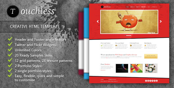 TOUCHLESS - Creative HTML Template