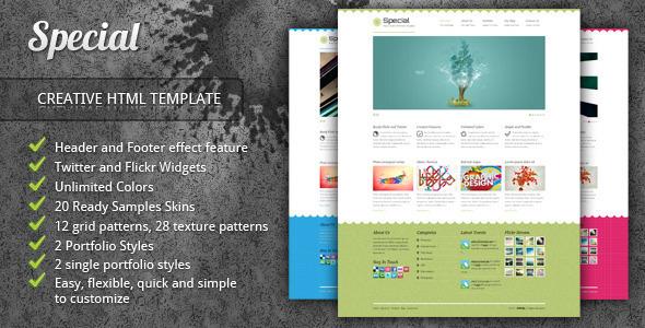 Special - Neat Creative Portfolio HTML Template