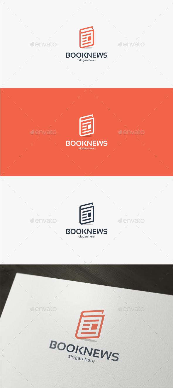 Book News - Logo Template