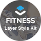 Fitness - Layers Style Kit - CodeCanyon Item for Sale