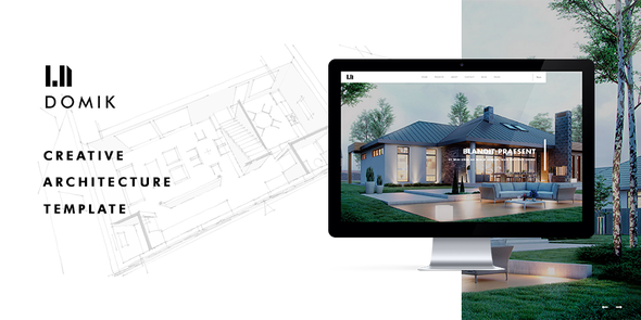 Domik - Creative Responsive Architecture WordPress Theme