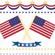 us flag decor set - GraphicRiver Item for Sale