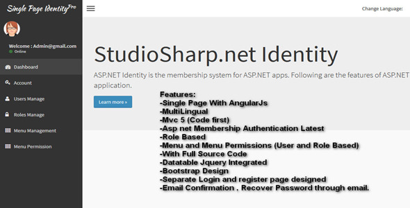 NET Membership & Authentication Tools from CodeCanyon