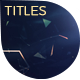 Inspirational Titles - Plexus Style - VideoHive Item for Sale