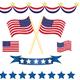 US independence decoration set - GraphicRiver Item for Sale