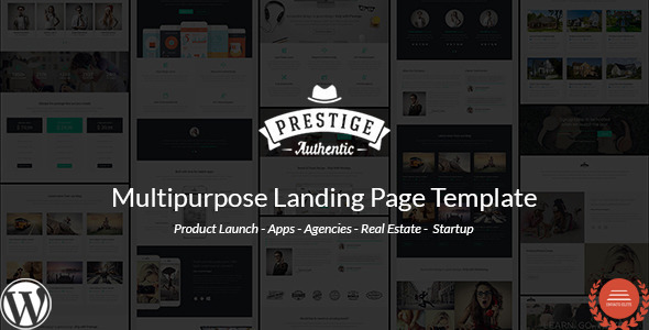 Prestige - Multi Purpose WordPress Landing Pages